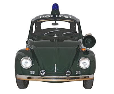Käfer © Bayerisches Polizeimuseum Ingolstadt