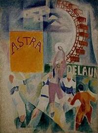 Robert Delaunay, die Mannschaft von Cardiff, 1913. © Bayerische Staatsgemäldesammlungen