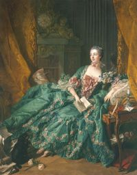 Francois Boucher, Bildnis der Madame de Pompadour, 1756