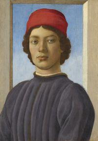 Filippino Lippi, Bildnis eines jungen Mannes, um 1480/85. © Courtesy National Gallery of Art, Washington, Andrew W. Mellon Collection