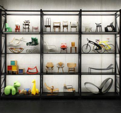 X-D-E-P-O-T. Objekte für Kinder, gebogenes Holz und Karbon. Foto: Patrizia Hamm. © VG Bild-Kunst, Bonn 2020