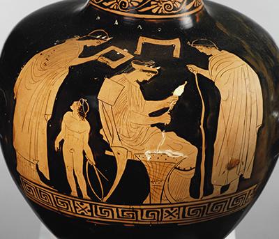 Frauen im Haus. © Staatliche Antikensammlungen