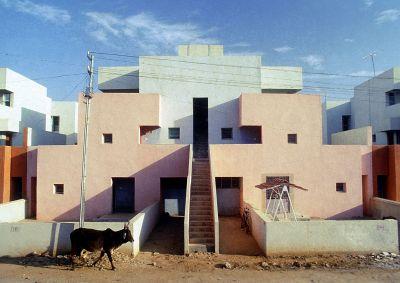 Wohnhaus vor dem Einzug der Bewohner in seiner ursprünglichen Konfiguration: