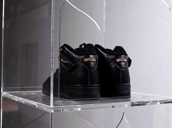 Baseera Khan, Nike ID#1, 2018. Courtesy the artist und Simone Subal Gallery, New York