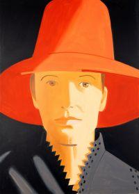 Alex Katz, Red Hat, 2013, Foto: Andreas Pauly © Alex Katz, VG Bild-Kunst, Bonn 2018