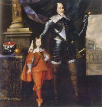 Nikolaus Prucker, Kurfürst Maximilian I. und Kurprinz Ferdinand Maria, © Bayerisches Nationalmuseum München