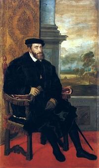 Tizian, Kaiser Karl V., 1548
