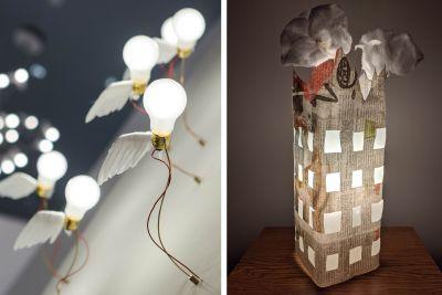 Fantasievolle Leuchten von Ingo Maurer wie