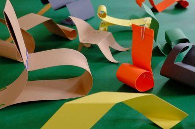 Im Atelier entstehen eigene Möbelideen. © Museumspädagogisches Zentrum