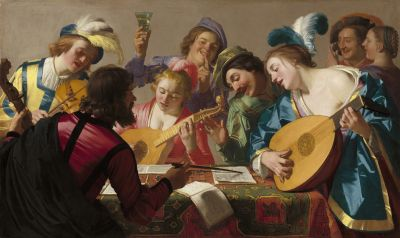 Gerard van Honthorst, Das Konzert, 1623. © National Gallery of Art, Washington, Patrons' Permanent Fund and Florian Carr Fund