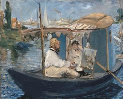 Édouard Manet, Die Barke, 1874