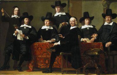 Ferdinand Bol, Die Vorsteher der Amsterdamer Weinhändlergilde, 1659, © Bayerische Staatsgemäldesammlungen