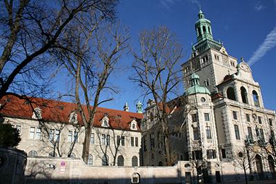 Außenansicht des Bayerischen Nationalmuseums