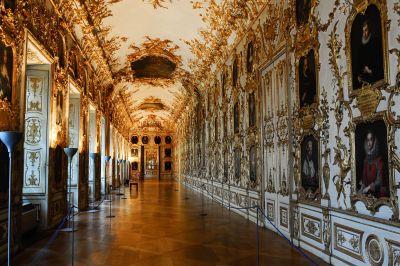 Ahnengalerie in der Residenz München. © Museumspädagogisches Zentrum