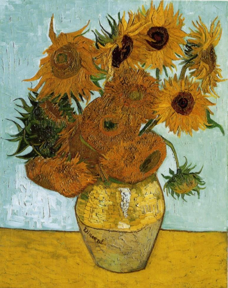 Vincent van Gogh, Sonnenblumen, 1888