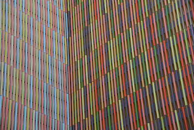 Museum Brandhorst, Detail der Fassade. © Museumspädagogisches Zentrum