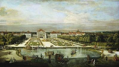 Canaletto, Schloss Nymphenburg, um 1761