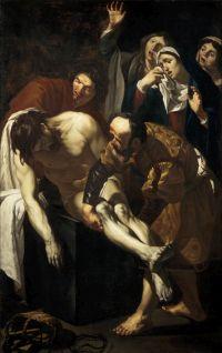 Dirck van Baburen, Die Grablegung Christi, 1617/19. © Centraal Museum Utrecht / Ernst Moritz