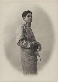 Erika Mann als Rennfahrerin, 1931; Foto: Max Fez; © Münchner Stadtbibliothek / Monacensia