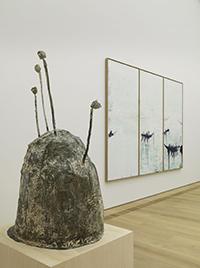 Raumansicht Museum Brandhorst mit Werken von Cy Twombly, Foto von Haydar Koyupinar. © Bayerische Staatsgemäldesammlungen, München