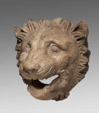 Löwenkopfwasserspeier, Ton, 1. H. 4. Jh. v. Chr.; Staatliche Antikensammlungen und Glyptothek München, fotografiert von Renate Kühling