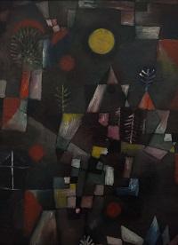 Paul Klee, Der Vollmond, 1919. © Bayerische Staatsgemäldesammlungen