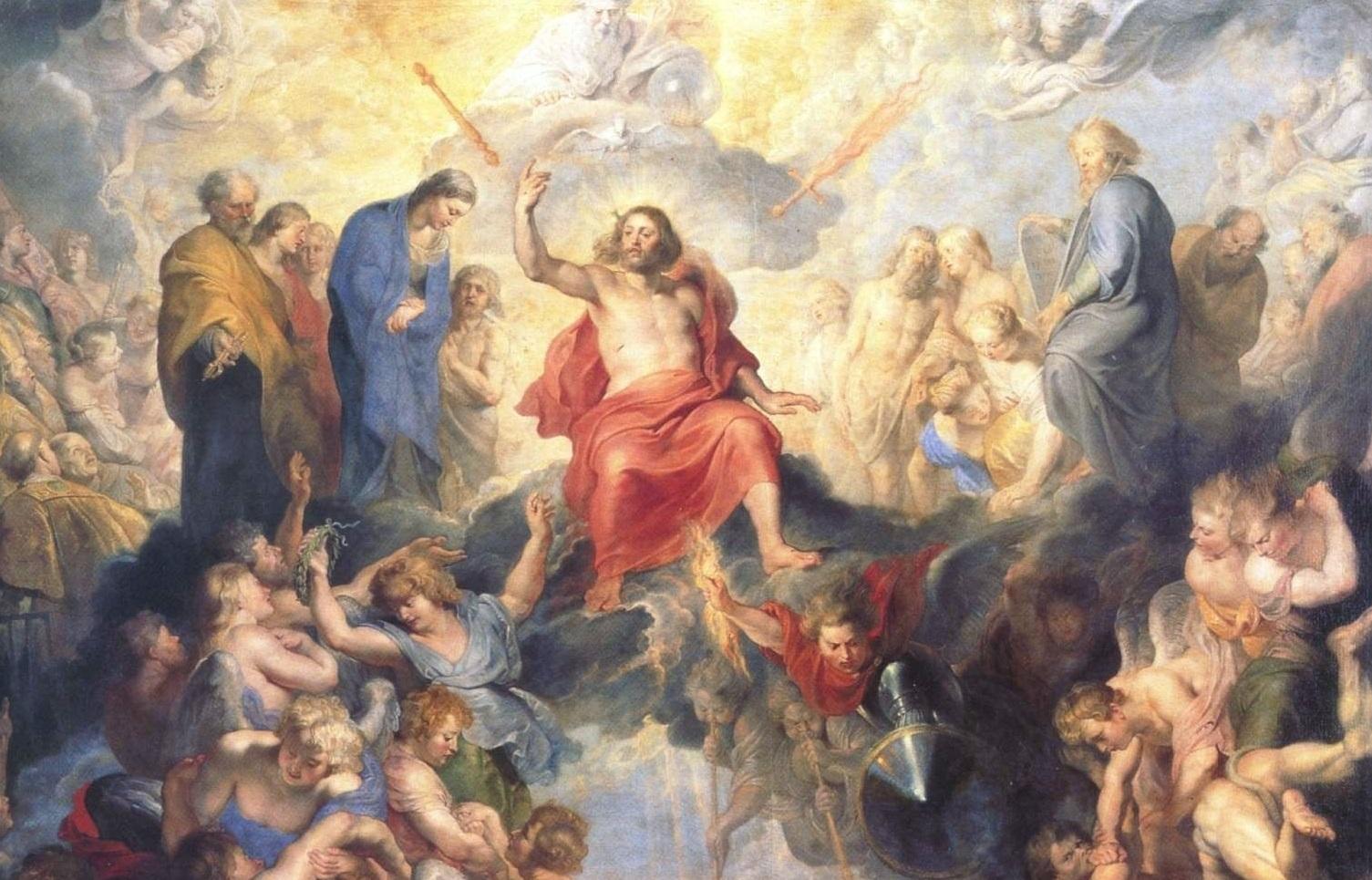 Ausschnitt aus: Peter Paul Rubens, Das Große Jüngste Gericht, 1617