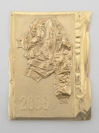 Seth Price, Vintage Bomber, 2006. Udo und Anette Brandhorst Sammlung. Foto: Ron Amstutz. Courtesy of the artist