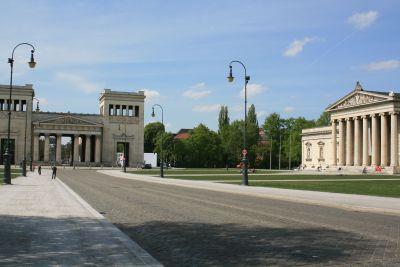 Königsplatz, © Museumspädagogisches Zentrum München