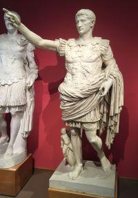 Augustus von Prima Porta, Abguss im Museum für Abgüsse Klassischer Bildwerke