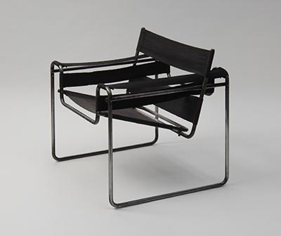 Marcel Breuer, Sessel Wassily B3, 1925, Besitz: Die Neue Sammlung – The Design Museum, Foto: Die Neue Sammlung (A. Laurenzo)