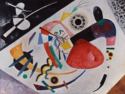 Wassily Kandinsky, Roter Fleck II, 1921