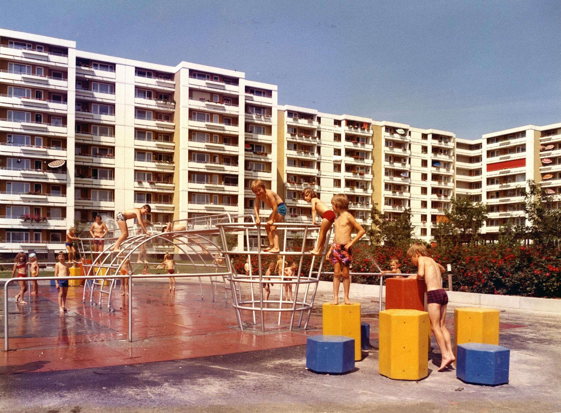 Entlastungsstadt München-Neuperlach, 1967-1992. © WSB Bayern, Bestand Neue Heimat