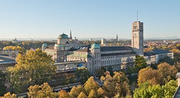 Außenansicht des Deutschen Museums