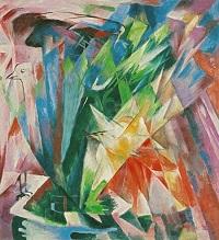 Franz Marc, Die Vögel, 1914