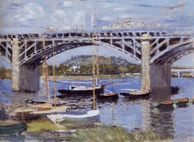 Claude Monet, Seinebrücke von Argenteuil, 1874