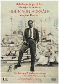 Plakat zur Sonderausstellung im Deutschen Theatermuseum