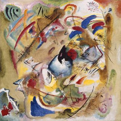 Wassily Kandinsky, Träumerische Improvisation, 1913. © Bayerische Staatsgemäldesammlungen