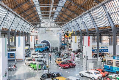 Deutsches Museum Verkehrszentrum, Halle 1, Foto: Deutsches Museum