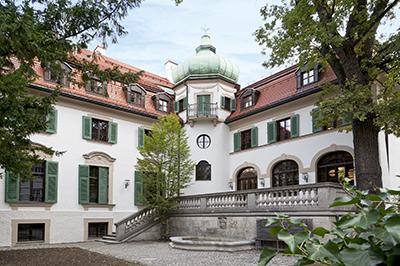Außenansicht des Hildebrandhaus, © Münchner Stadtbibliothek, Foto: Eva Jünger